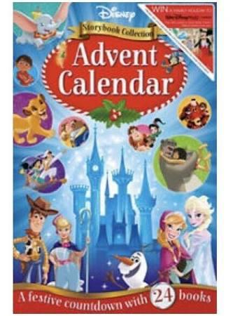 Disney collection 24 advent calendar book - Asda £5