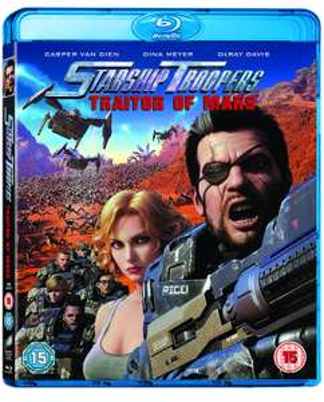 Starship Troopers: Traitor of Mars [2017] Blu-Ray £2.49 (Prime) £5.48 (Non Prime) @ Amazon
