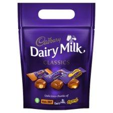 Cadbury Dairy Milk Classics Mixed Chunk Pouch 372G £2.50 @ Tesco