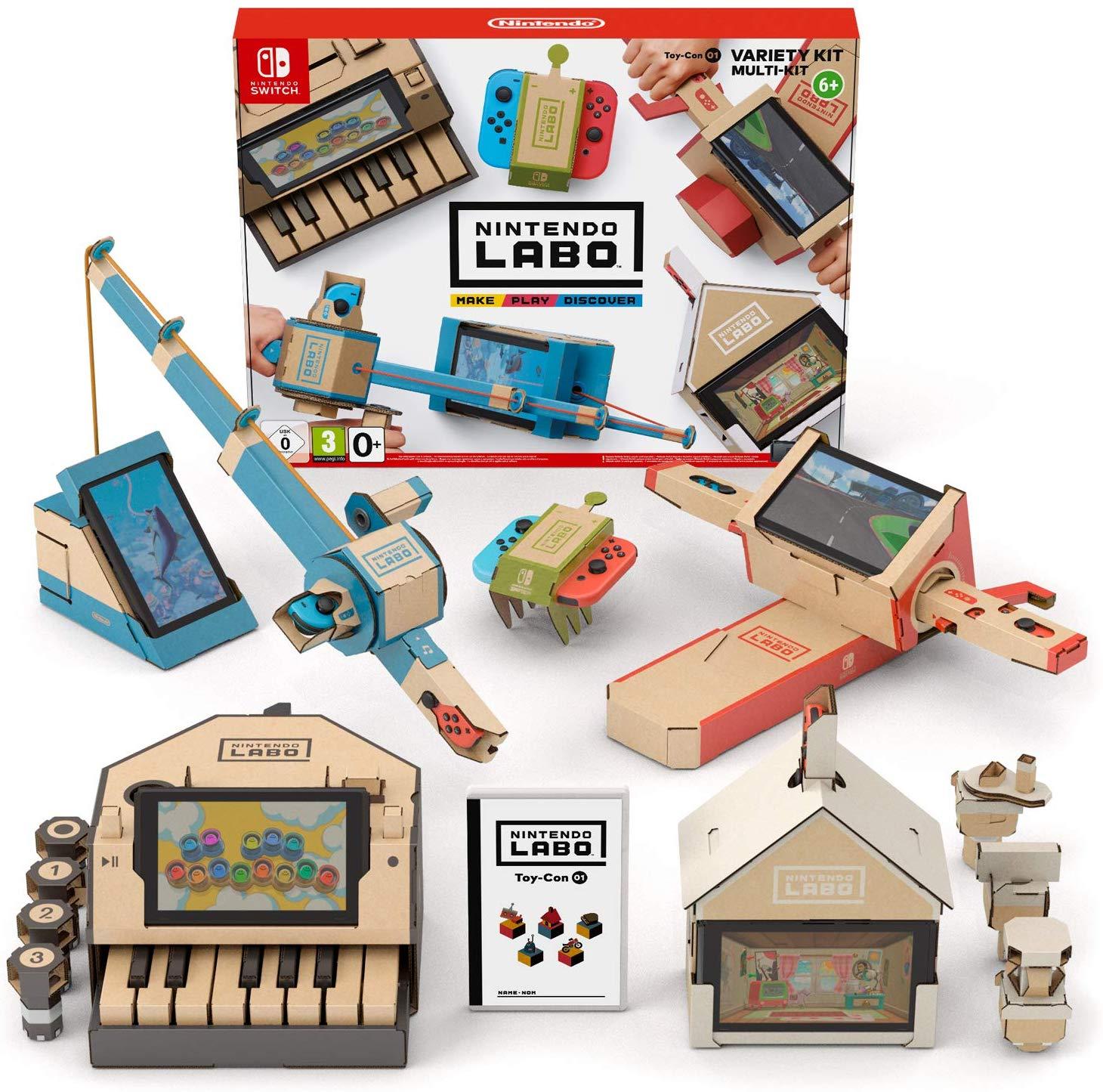 Nintendo Labo Variety Kit £19.99 (Prime) / £22.98 (non Prime) at Amazon
