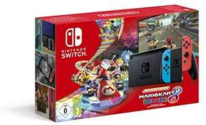 Nintendo Switch (Neon Red/Neon Blue) with Mario Kart 8 Deluxe - Limited Edition Bundle - £279.99 @ Amazon