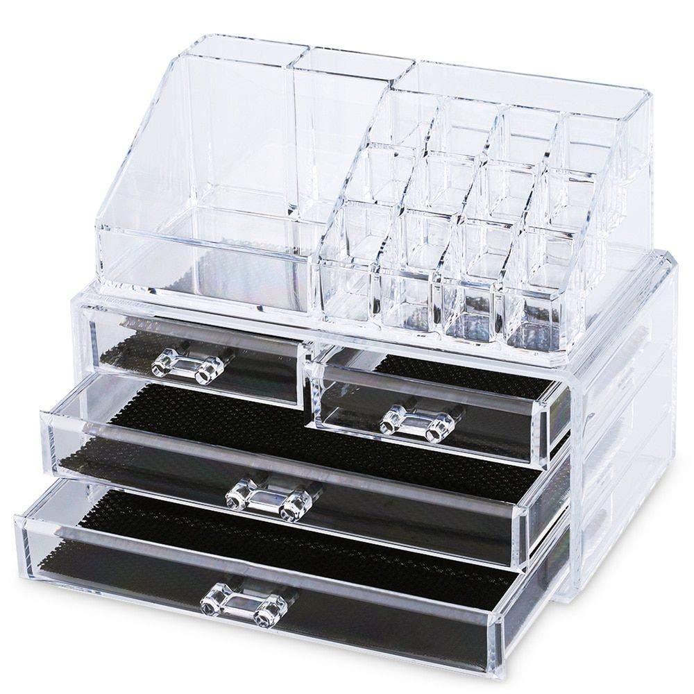 4 Draw Cosmetic Organiser - £8.85 (Prime) £13.34 (Non Prime) @ Amazon / Elite-Packaging
