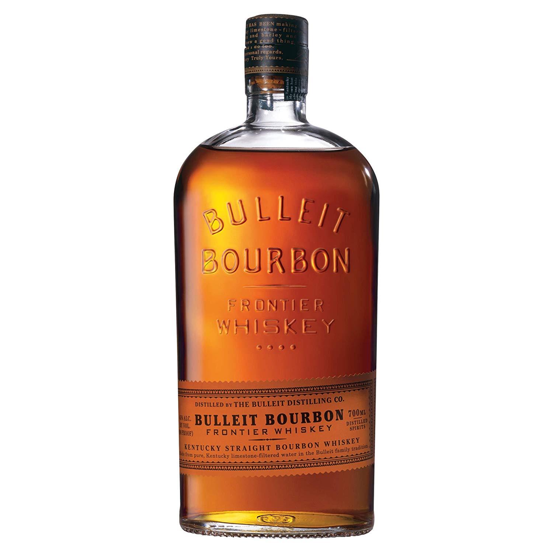 Bulleit Bourbon Frontier Whiskey, 700 ml £17.90 (Prime) buy some batteries to take to £20 otherwise £22.39 (Non Prime) @ Amazon
