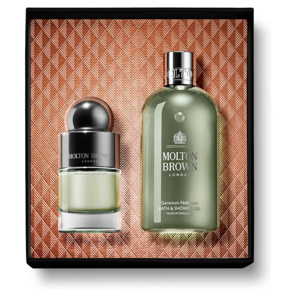 Molton Brown Geranium Nefertum Fragrance Gift Set £34.12 using code @ Look Fantastic delivered