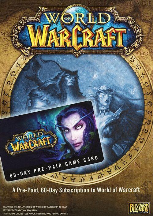 World of Warcraft 60-day timecard pc game £16.65 @ cdkeys.com