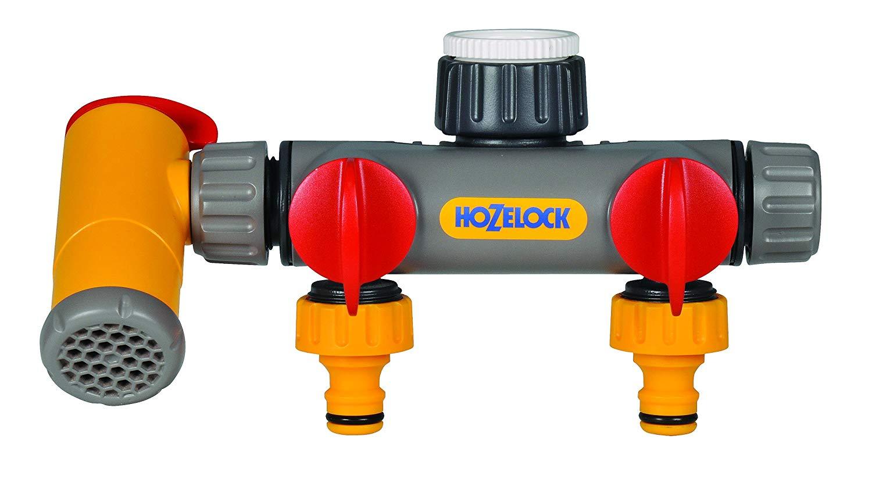 Hozelock 2 way tap splitter and filler £8 prime / £12.49 non prime @ Amazon