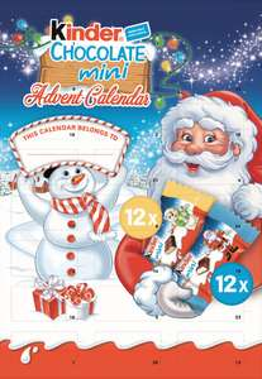 Kinder advent calendar £1 reduced to clear @ Tesco walsall