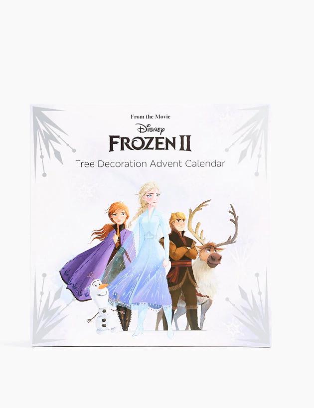 M&S Disney Frozen 2 Tree Decoration Advent Calendar - 25 Baubles £5 at Marks & Spencer