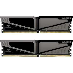 Team Vulcan T-Force 16GB (2x8GB) DDR4 3000MHz Dual Channel Kit - Grey £64.69 delivered at Overclockers