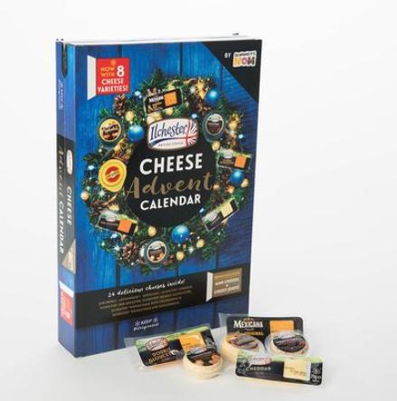 Cheese advent calendar £2.50 @ Sainsbury's