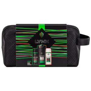 Lynx Africa Wash Bag Gift Set 3pk £5.99 at B&M Retail