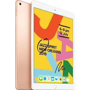 Apple iPad 2019 10.2-inch WiFi 32 GB - Gold,Silver,Grey £261.20 using code and promo @ ebay / hitechelectronicsuk