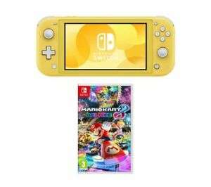 Nintendo Switch Lite with Mario Kart 8 @ Currys ebay - £208.05