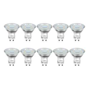 LE GU10 LED Light Bulbs, Warm White 2700K, 50W Halogen Bulb Equivalent, 4W 350lm - £12.74 (Prime o r£4.49 NP) @ Sold by NEON Mart and FBA