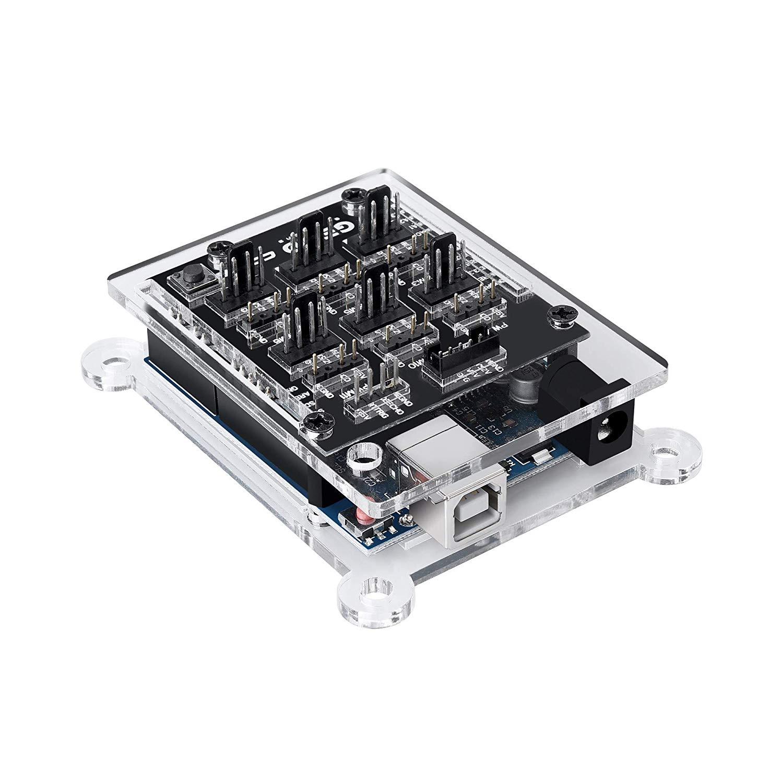 GELID Solutions Codi6 Programmable ARGB Controller Kit. Add ARGB lighting to computer - £18.17 (Prime) £22.66 (Non Prime) @ Amazon