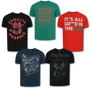 20% Off On Selected Men's Clothing - EG: Winner, Winner Christmas Dinner T-Shirt £3.20 - Free Click & Collect @ George