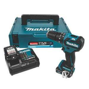 Makita HP332DSAJ 10.8 V Li-ion Brushless Combi Drill INCLUDES 2 x 2.0Ah Li-ion Batteries and Charger £71.99 (Incl VAT) @ Selco BW