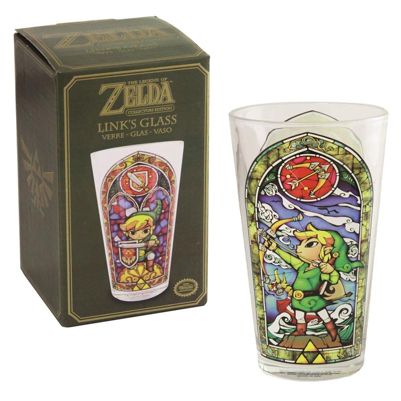 Official Nintendo Legend of Zelda Drinking Glass £3.99 / Two pack for £6.50 Delivered @ Onbuy / Paladone Products Ltd