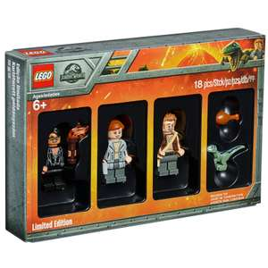 LEGO Jurassic World 5005255 Minifigure Set £12.99 + 10% off with code @ IWOOT (£14.68 delivered)