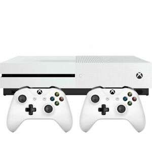 Xbox One S 1TB with Dual Controller White £170.05 @ Ebay AO