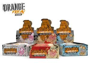 CARB KILLA®- 3 Boxes (of 12 bars) Protein Bars for £40 Delivered at Grenade Uk Limited