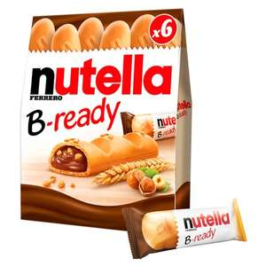 Nutella B - ready 6 pack £1.50 in store Asda perry barr Birmingham