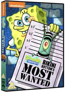 Nicktoons' SpongeBob SquarePants: Bikini Bottom's Most Wanted DVD £3.10 + £2.99 non prime Sold by Springwood Media and Fulfilled by Amazon