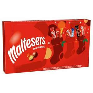 Malteser & Friends 213g / Galaxy Christmas Large Collection Box 246g instore @ Tesco -( Fulham, London)