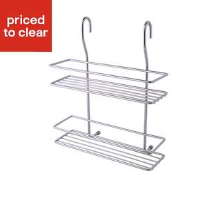 Cooke & Lewis Hastings Silver Chrome effect Spice Rack For £2.50 @ B&Q Delivery Only (+£5 Postage)!!