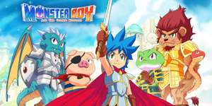 Monster Boy and the Cursed Kingdom £13.80 (Norway) / £17.49 (UK) @ Nintendo Switch eShop