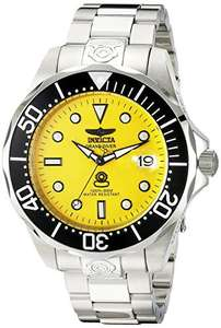 Invicta Grand Diver Automatic Yellow Men's watch @ Amazon US - £87.47