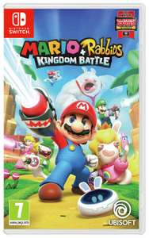 Mario and Rabbids Kingdom Battle - Nintendo Switch - £16.99 @ Argos