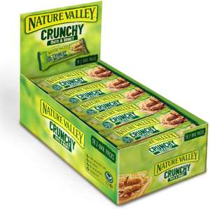 Nature Valley Crunchy Oats & Honey Cereal Bars 42g (Pack of 18 bars) £4.32 + £3.99 delivery @ Amazon Pantry
