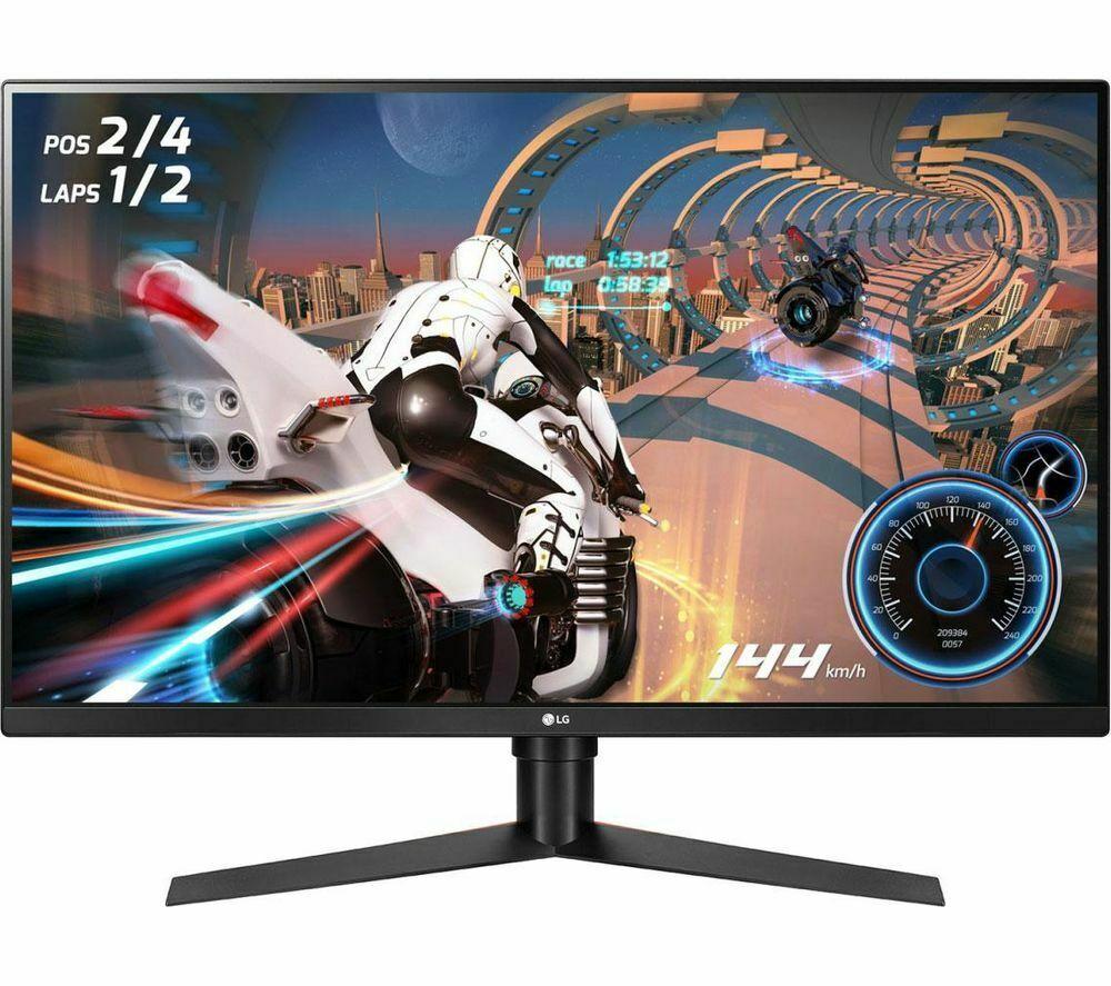 """LG UltraGear 32GK650F Quad HD 31.5"""" LCD Monitor 144Hz/1440p/VA - Black - Currys £284.05 @ Currys Ebay"""