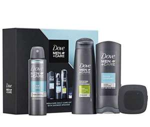 Dove Men +Care Daily Care Gift Set + Bluetooth Speaker £8.50 2 in 1 Shampoo, Shower Gel, Christmas Gift Set £8.50 + £4.49 NP @ Amazon