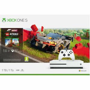 Xbox One S 1TB with Forza Horizon 4 with Lego Speed Champions Add On, White £170.05 @ Ebay AO