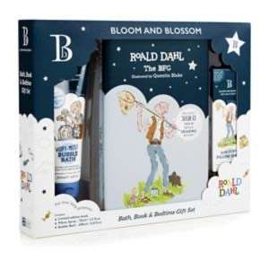 Bloom & Blossom BFG Bath, Book & Bedtime Gift Set £7.50 + £3.50 delivery or free click and collect on £10 spend @ Boots