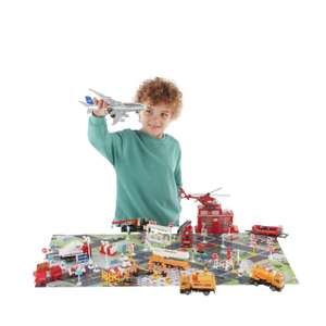 Chad Valley City 100 Piece Playset £15 From Argos