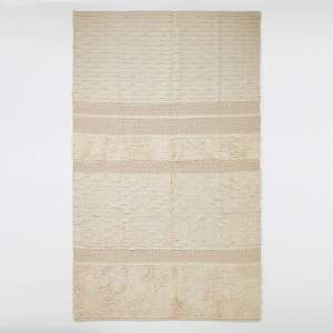 Large cream and gold tufted rug - £40 + free Click and Collect / £3.99 delivery @ River Island