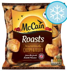 McCain Roasts 800G in Tesco only £1.07
