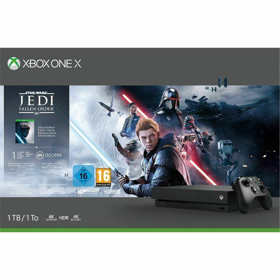 Xbox One X Star Wars Jedi Fallen Order Console - £279.99 delivered @ ShopTo eBay
