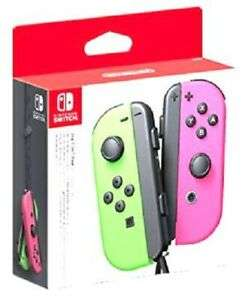 Nintendo Switch Joy-Con Controller Pair - Neon Green/Neon Pink/ Yellow/ Neon Red, Blue £53.56 Delivered @ The Game Collection