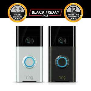 Ring Wi-Fi Video Doorbell HD Wireless 720P - Works with Alexa - £67.96 Delivered @ Ebay Hi-tech Electronics