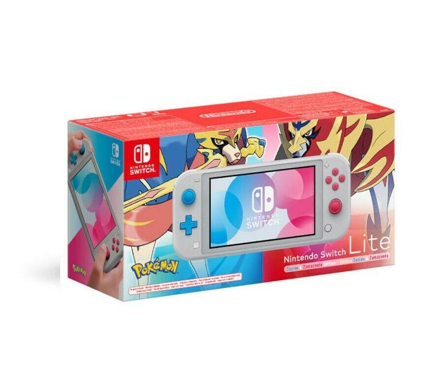 Nintendo Switch Lite: Zacian and Zamazenta Edition £179.99 @ Shopto eBay