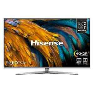 "Hisense H50U7BUK (2019) ULED HDR 4K Ultra HD Smart TV, 50"" with Freeview Play, Black/Silver £374 ebay / hughesdirect"