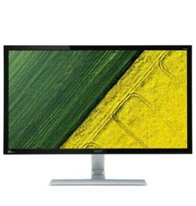 """ACER RT280KAbmiipx 4K Ultra HD 28"""" LED Monitor - Black & Silver Used / open box - £148.16 @ currys_clearance ebay"""