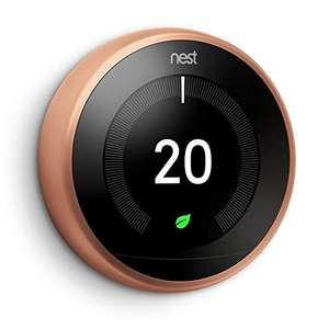 Nest Learning Thermostat 3rd Generation - Copper - £159 @ Amazon