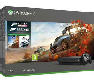 Microsoft Xbox One X 1TB Gaming Console - Missing Accessories - £227.97 @ Currys Clearance / eBay