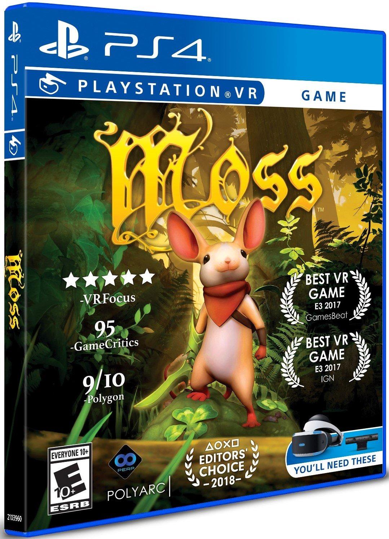 Moss (PS4 PSVR) - £12.85 delivered @ Base