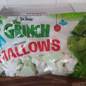 The grinch vanilla flavoured marshmallows only 50p in poundland